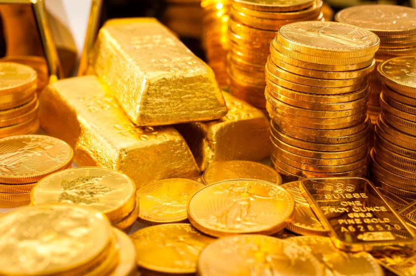 att köpa guldmynt
