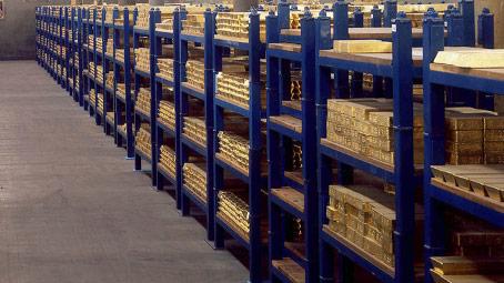 Guldreserver lager