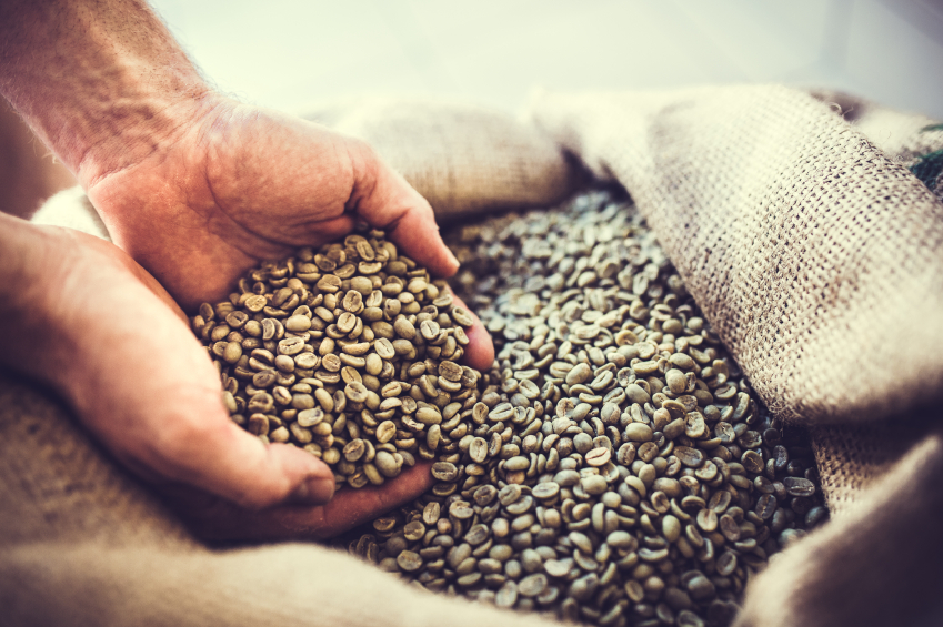 Handel med kaffe som råvara