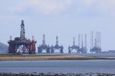 Oljerigg i Mellanöstern